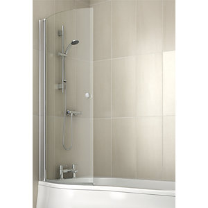 iflo Rennes Curved Shower Screen 1500mm x 691mm