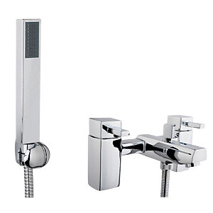 iflo Reno Bath Shower Mixer Tap Brass