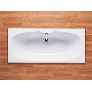 Roca Sitges Double Ended Bath White 1700mm x 750mm 023200000