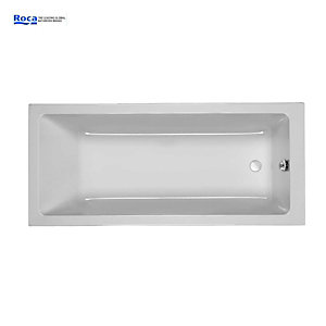 Roca The Gap Bath White 1600 x 700mm Z024716000