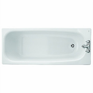 Twyford Neptune Steel Bath White 1700mm NE9592WH