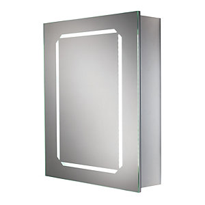 HiB Cosmic Steam Free Bathroom Cabinet Aluminium