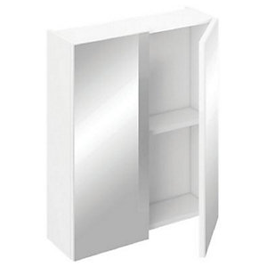 iflo Aliano Bathroom Cabinet 400mm x 190mm White