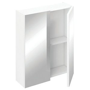 iflo Aliano Bathroom Cabinet Including 2 Doors White 600mm x 190mm