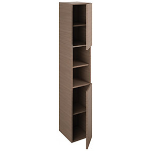 iflo Aliano Tower Unit Walnut Including 2 Door 300mm x 1800mm
