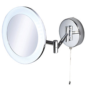 HiB Leo Magnifying Bathroom Mirror 22300