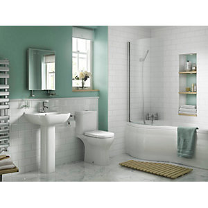 Iflo Rhea 5 Piece Bathroom Suite