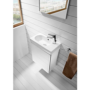 Roca Cloakroom Suite Including Basin Mixer & Seat