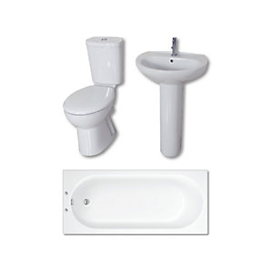 Roca Full Bathroom Suite Pack