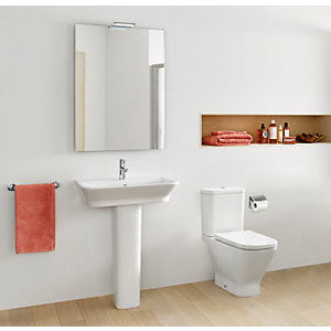 Roca the Gap Basin & Toilet Suite