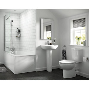 iflo Cascada 5 Piece Soft Close Suite 2 Tap Hole
