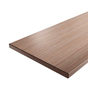 iflo Worktop Laminate Walnut 28mm x 485mm x 2000mm