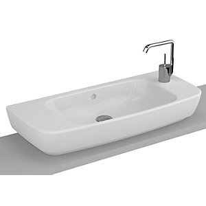 Vitra Shift 1 Taphole Right Hand 800mm Basin 4389B003-0921