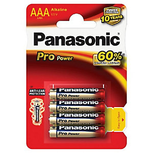 Panasonic Batteries AAA Pack of 4