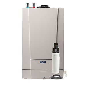 Baxi Ecoblue Advance 16kW Heat Only Gas Boiler & Flue Packs Erp