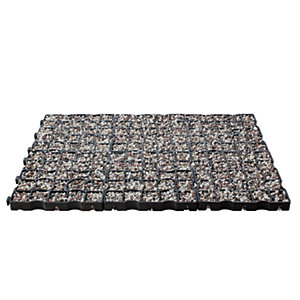 Drivegrid Permeable Driveway System - 11.76m2 System Pack with Multi Flint Spar Agg