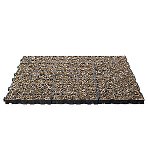 Drivegrid Permeable Driveway System - 11.76m2 System Pack with Sea Washed Agg