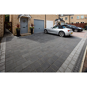 Drivesys Patented Driveway System Classic Paver Abbey Blend - 200 x 100 x 60