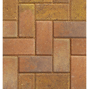 Marshalls Driveline 50 Bracken Block Paving 200mm x 100mm x 50mm Pack of 488