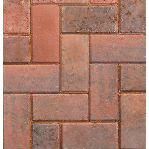 Marshalls Driveline 50 Brindle Block Paving 200mm x 100mm x 50mm Pack 488