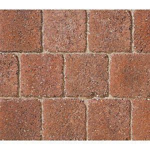 Marshalls Drivesett Deco Terracotta Block Paving 110mm x 110mm x 50mm - Pack of 882