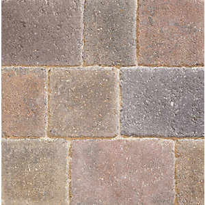 Marshalls Drivesett Deco Traditional Block Paving 110mm x 110mm x 50mm - Pack of 882
