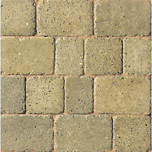 Marshalls Drivesett Duo Cotswold/Heather 160mm x 160mm x 50mm - Pack of 420