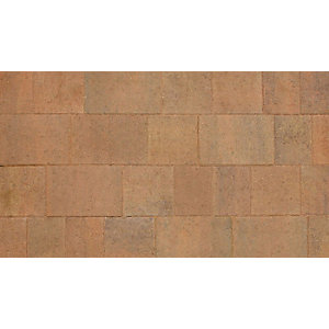 Marshalls Drivesett Savanna Autumn Block Paving Pack 160mm x 160mm x 50mm