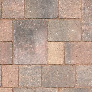 Marshalls Drivesett Tegula Concrete Block Paving Large Traditional 240mm x 160mm x 50mm (England & Wales)