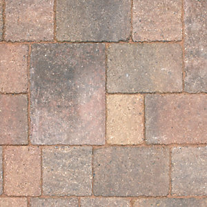 Marshalls Drivesett Tegula Concrete Block Paving Medium Traditional 160mm x 160mm x 50mm (England & Wales)