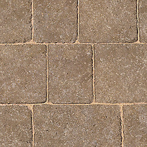 Marshalls Drivesett Tegula Original Hazelnut Block paving 50mm x 160mm x 240mm