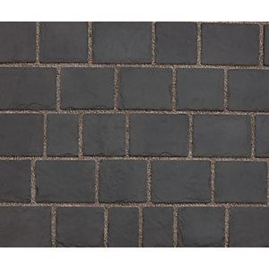Marshalls Drivesys Patented Driveway System Black Split Stone - 7.22m2 5 Mixed Sized Project Pack