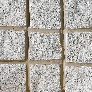 Marshalls Granite Cobble Setts Silver Grey 100mm x 100mm x 200mm