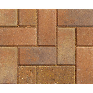 Marshalls Keyblock Concrete Block Paving  Bracken 200mm x 100mm x 60mm
