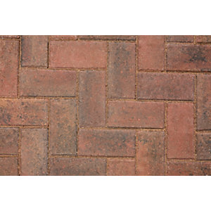 Marshalls Keyblock Concrete Block Paving  Brindle 200mm x 100mm x 80mm - Pack of 308 8.08 m2 pack coverage
