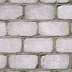 Marshalls Premium Natural Stone Setts Split and Tumbled Silver Birch 200mm x 100mm x 50mm