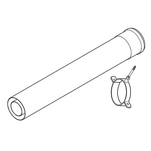 Baxi Multifit Flue Extension 1000mm 241695