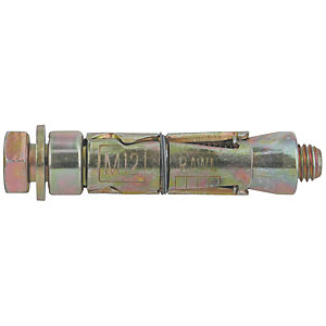 Rawlbolt Plated Loose Bolt M 8 10L 44-053
