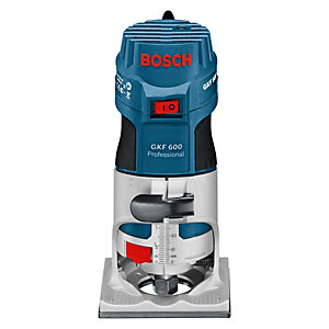 Bosch GKF 600 240V Palm Router & Accessories