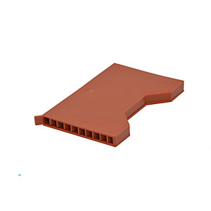 Manthorpe Terracotta Weep Vent 9mm x 65mm