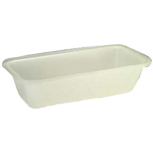 Large Plasterers Bath 135L Natural