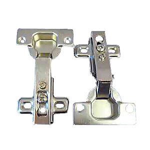 4Trade Concealed Hinge Nickel Plated 35mm Pack of 2