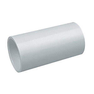 Marshall-Tufflex Conduit Straight Coupler Whites White 20mm
