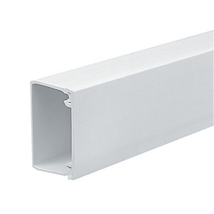Marshall-Tufflex Mini Trunking White 38mm x 25mm x 3000mm