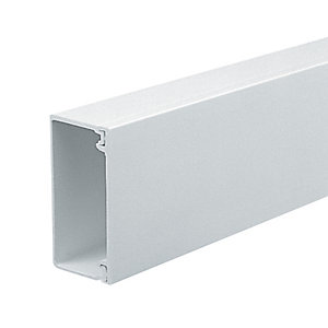 Marshall-Tufflex Mini Trunking White 50mm x 25mm x 3000mm
