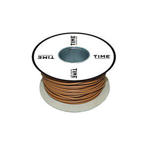 Pitacs 2.5mm² Single Core Conduit Wiring 6491X Brown 100m