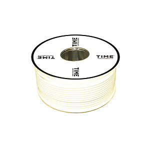 Pitacs 75OHM Co-Axial Cable White 100M