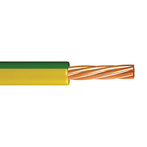 Pitacs Single Core 6491B Low Smoke Zero Halogen Conduit 2.5mm Green/Yellow 100m
