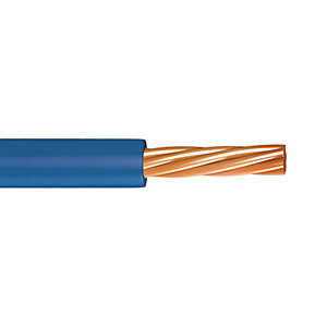 Single Core Low Smoke Zero Halogen Conduit 1.5mm 6491B Blue 100m