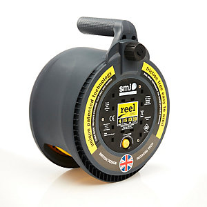 Reel Pro 15 Metre 13 Amp 4 Gang Thermal Cut Out